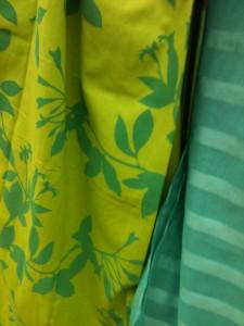 Rideaux opaques vert