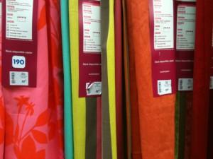 Rideaux multicolor