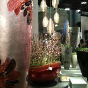 Objets décoratifs à style végétal et luminaires
