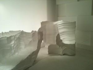Décoration volumineuse et texturée