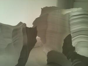 Décoration de couleur blanche