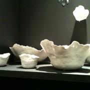 Objets décoratifs blancs