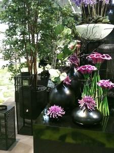 Bouquets de fleurs viollettes