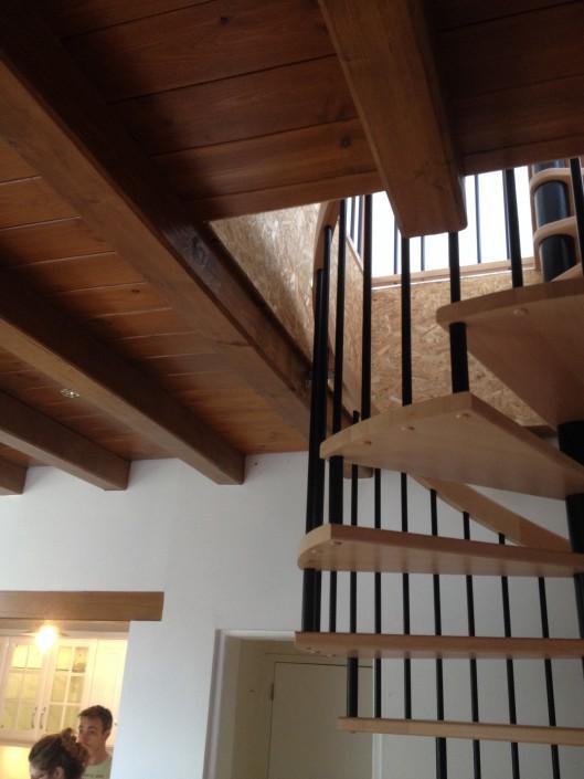 escalier - planché - parquet
